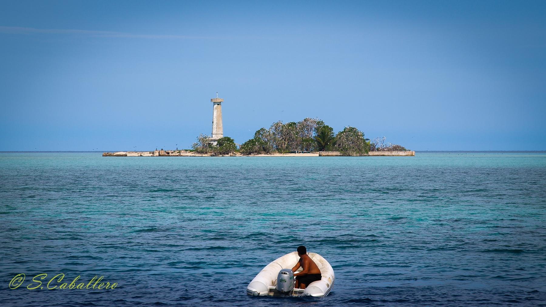 Tubbtaha-Reef Leuchtturm